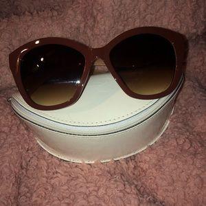 Brown Mild-Cat eye Sunglasses